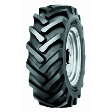 Lot de 2 pneus sur jantes MICHELIN 17.5R24 - 460/70R24